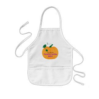 Cute Pumpkin, Halloween Pumpkin Carving Kids Apron
