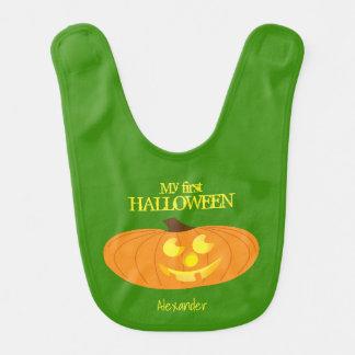 Cute Pumpkin, My First Halloween Personalized Bib