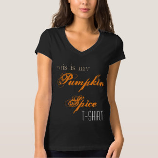 Cute Pumpkin Spice Autumn Quote T-Shirt