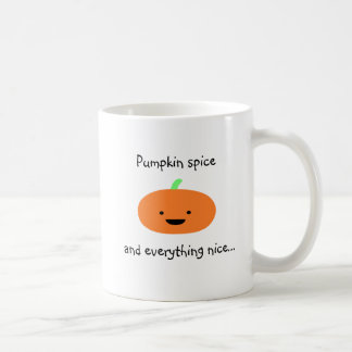 Cute Pumpkin Spice Mug