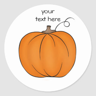 Cute pumpkin stickers for your text