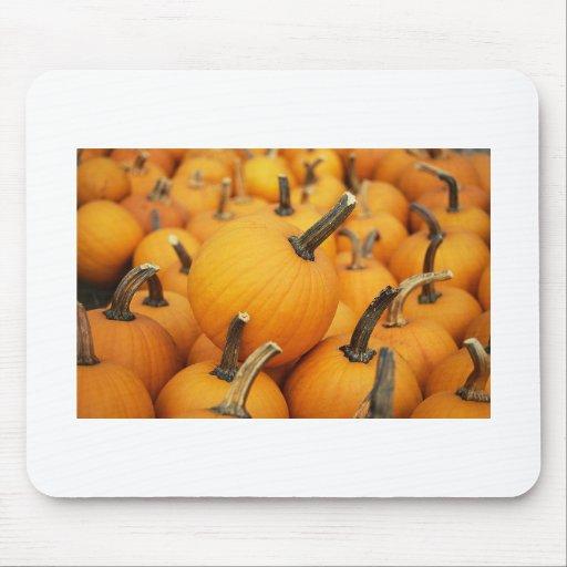 Cute Pumpkins In The Pumpkin Patch Mouse Pads