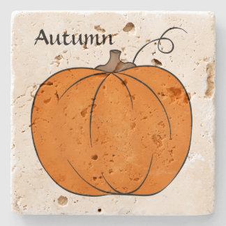 Cute pumpkins Thanksgiving Stone Coaster