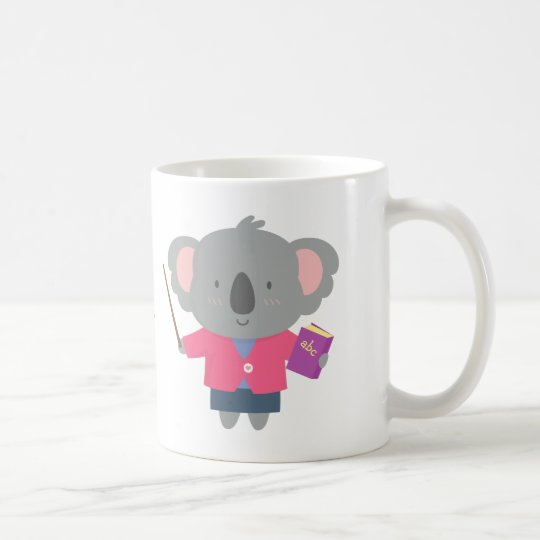 Cute Pun Humour Koala Bear Teacher Coffee Mug