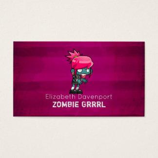 Cute Punk Rock Zombie Grrrl Fun Novelty