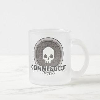 Cute Punk Skull Connecticut Mug Glass