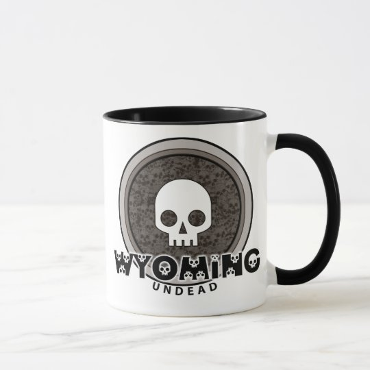 Cute Punk Skull Wyoming Mug