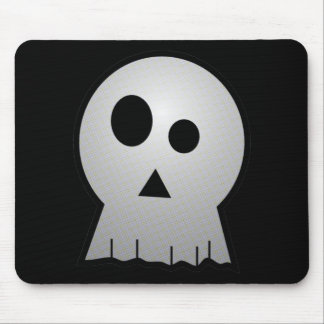CUTE PUNKY HALLOWEEN SKULL MOUSE PAD
