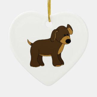 Cute Pup Ornament
