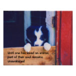 Cute Puppy Animals Inspirational Quote Posters