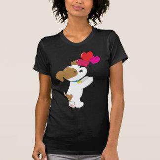 Cute Puppy Balloons T-Shirt