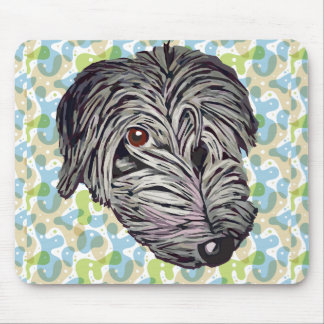 Cute puppy dog mouse pad