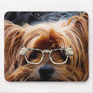 Cute Puppy Dog Pet Peace Love Destiny Art Mouse Pads