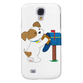 Cute Puppy Mail Galaxy S4 Case