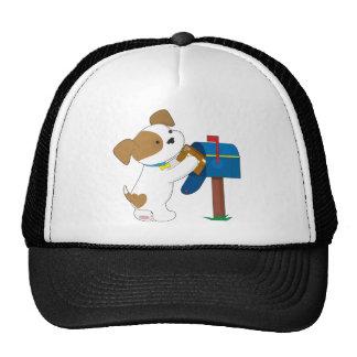 Cute Puppy Mail Trucker Hat