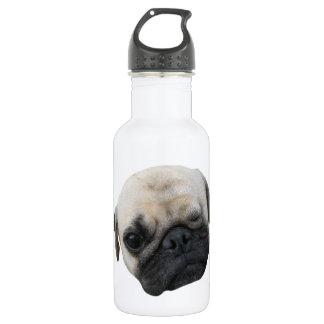 Cute Puppy Pug Dog Friend ... かわいい 子犬 532 Ml Water Bottle