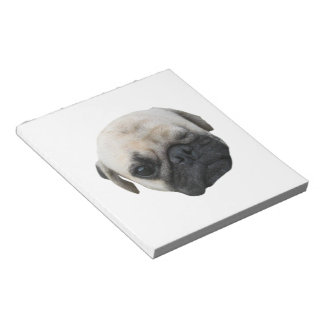 Cute Puppy Pug Dog Friend ... かわいい 子犬 Notepad