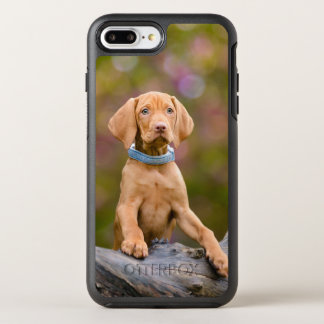 Cute puppyeyed Hungarian Vizsla Dog Puppy Photo ./ OtterBox Symmetry iPhone 7 Plus Case