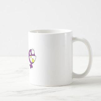 Cute Purple Baby Monster Mug