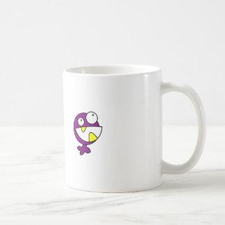 Cute Purple Baby Monster Coffee Mugs
