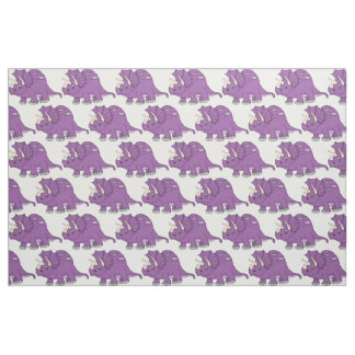 Dinosaur fabric for Purple dinosaur fabric