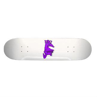 Cute Purple Dragon Skate Board Decks