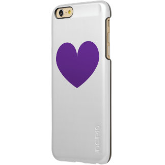 Cute Purple Heart iPhone Case
