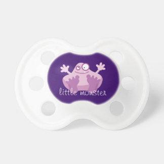 Cute Purple Monster Pacifier