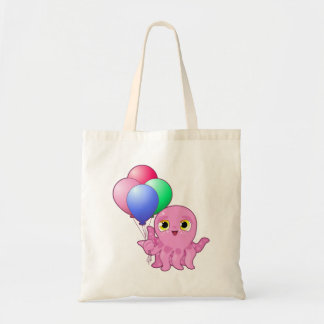 Cute Purple Octopus