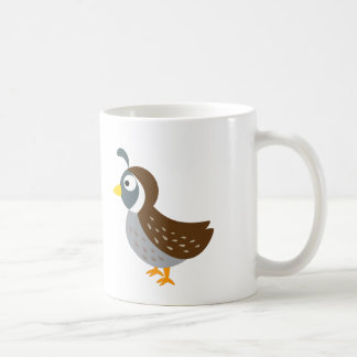 Cute Quail Coffee Mug