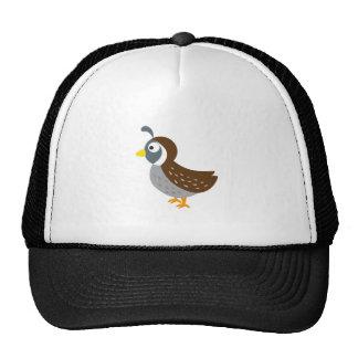 Cute Quail Mesh Hat