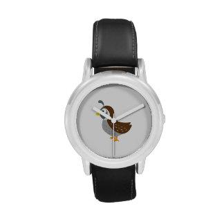 Cute Quail Watch