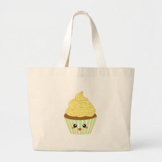 Cute Quirky Cupcake Design for Bakery Lovers Jumbo Tote Bag