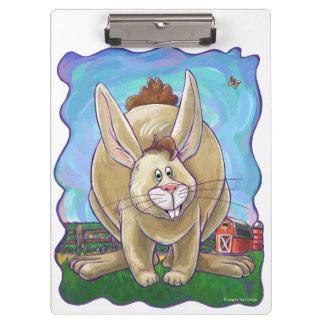Cute Rabbit Animal Parade Clipboard