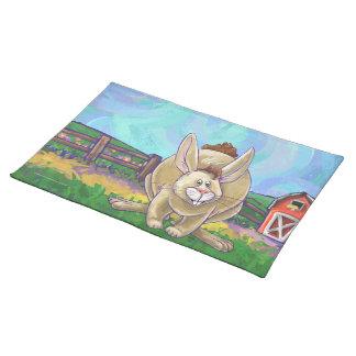 Cute Rabbit Animal Parade Placemat
