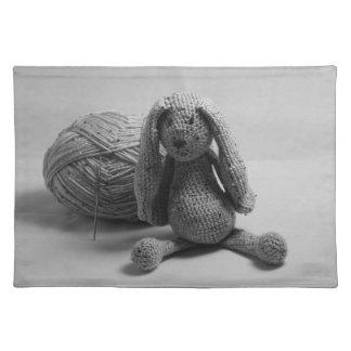 Cute rabbit design place mats