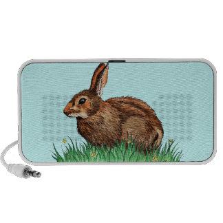 cute rabbit iPod speaker