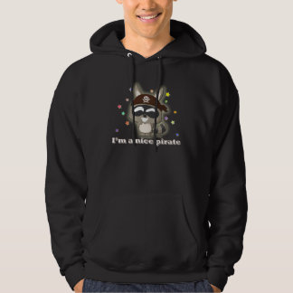 Cute Raccoon Funny Cartoon Kawaii Pirate T-Shirt