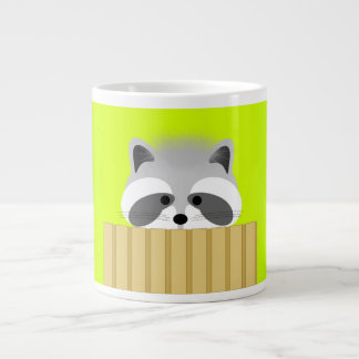 Cute Raccoon Mug Extra Large Mug