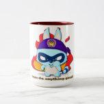 Cute Racoon Cup Funny Cartoon Character Mug