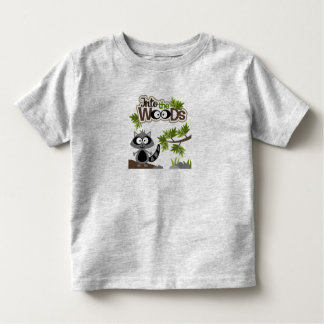 Cute Racoon In the Woods Toddler T-Shirt