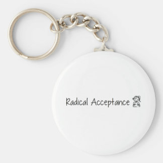 Cute Radical Acceptance Keychains