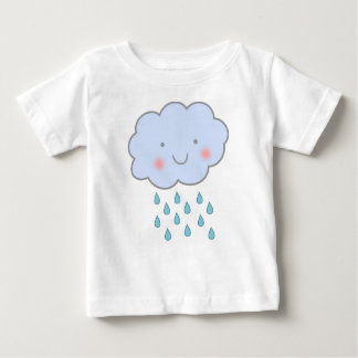 cute rain cloud baby shirt