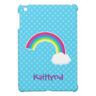 Cute Rainbow and Cloud Case For The iPad Mini