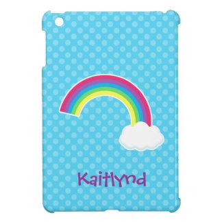 Cute Rainbow and Cloud iPad Mini Covers
