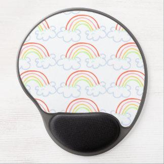 Cute Rainbow Gel Mouse Mats