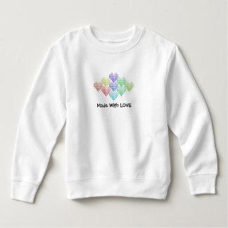 Cute Rainbow Hearts Sweatshirt