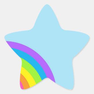 Cute Rainbow! Star Sticker
