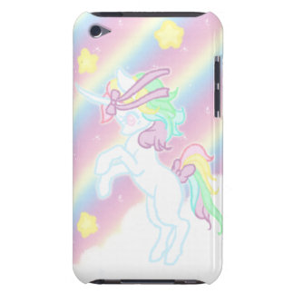 Cute Rainbow Unicorn Barely There iPod Covers