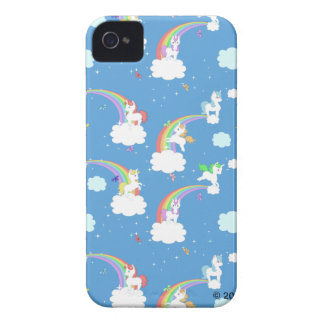 Cute Rainbows and Unicorns Case-Mate iPhone 4 Cases